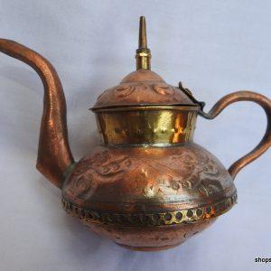 Tea pot 10x15 centimetre 140 gram Copper