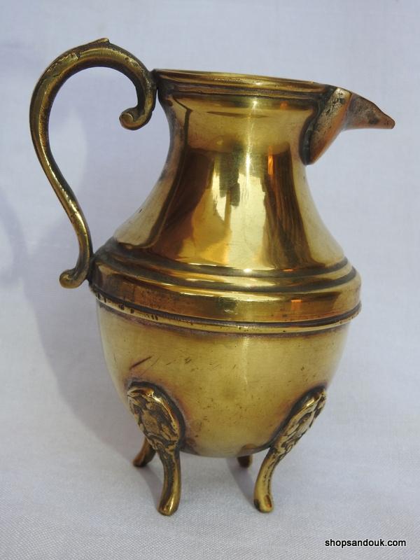 Water pot 15x12 centimetre 210 gram Brass