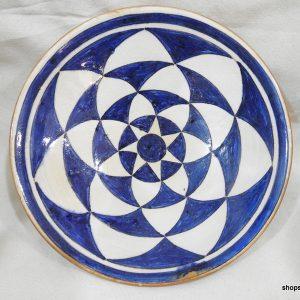 18x4 centimetre 300 gram pottery