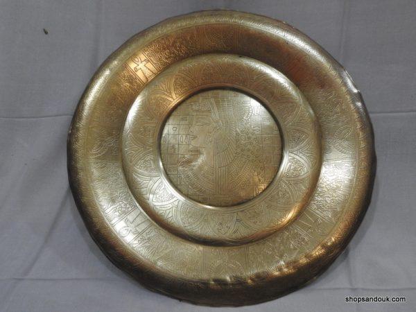 Tray 40 centimetre 900 gram Vintage