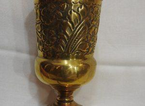 Vase 17x9 centimetre 230 gram Brass