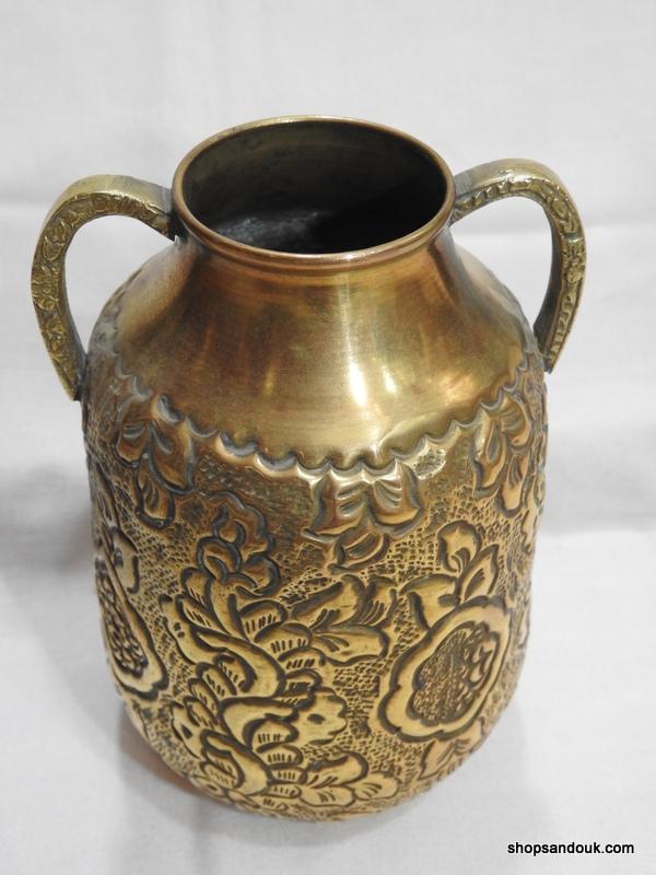 Vase 18x13 centimetre 230 gram Brass