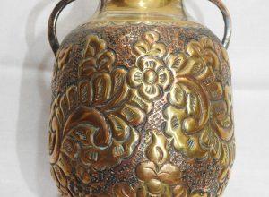 Vase 15x12 centimetre 290 gram Brass
