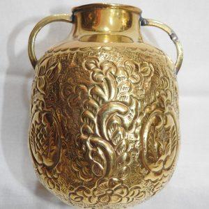 Vase 15x12 centimetre 285 gram Brass