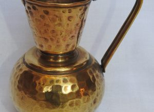 Water pot 15x11 centimetre 170 gram Brass