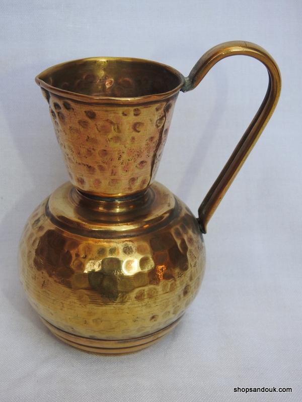 Water pot 15x11 centimetre 170 gram Brass