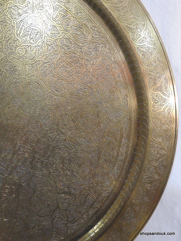 Large Tray 70 centimetre 3700 gram Vintage