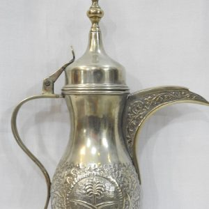 Shop sandouk Dallah 30centimetre 840gram copper plated silver