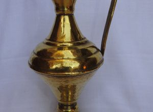Water pot 31x18 centimetre 415 gram Brass
