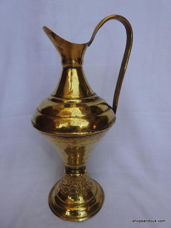 Water pot 31x18 centimetre 415 gram Brass