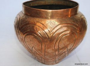 Plant pot 35x28 centimetre 1515 gram copper