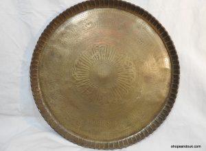 Large Tray 67 centimetre 2800 gram Vintage