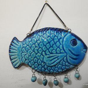 Fish 18x13 centimetre 290 gram Porcelain