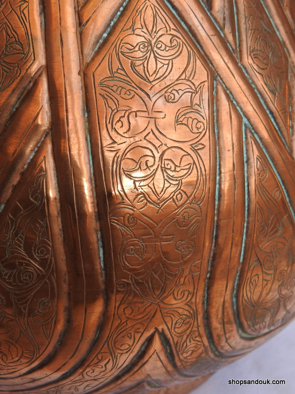 Plant pot 35x28 centimetre 1515 gram copper
