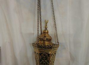 Ceiling Lantern 33x13 centimetre 750 gram 4SP Oxidized