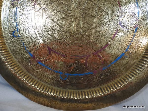 Large Tray 70 centimetre 3500 gram Vintage