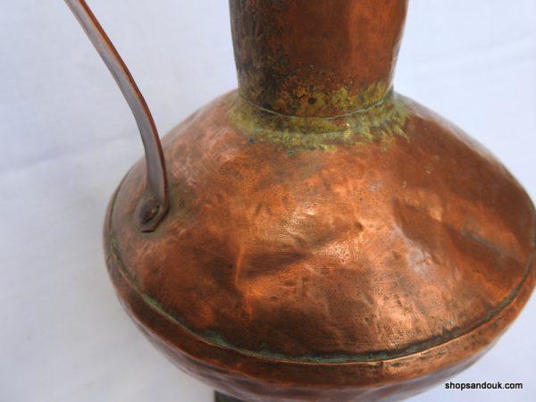 Water pot 40x17 centimetre 610 gram Copper