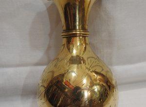 Vase 20x10 centimetre 360 gram Brass
