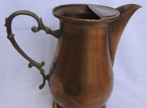 Water pot 21x22 centimetre 710 gram Copper
