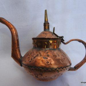 Tea pot 12x17 centimetre 140 gram Copper