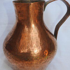 Water pot 27x23 centimetre 1750 gram Copper