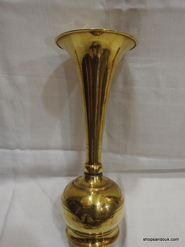 Vase 28x11 centimetre 270 gram Brass