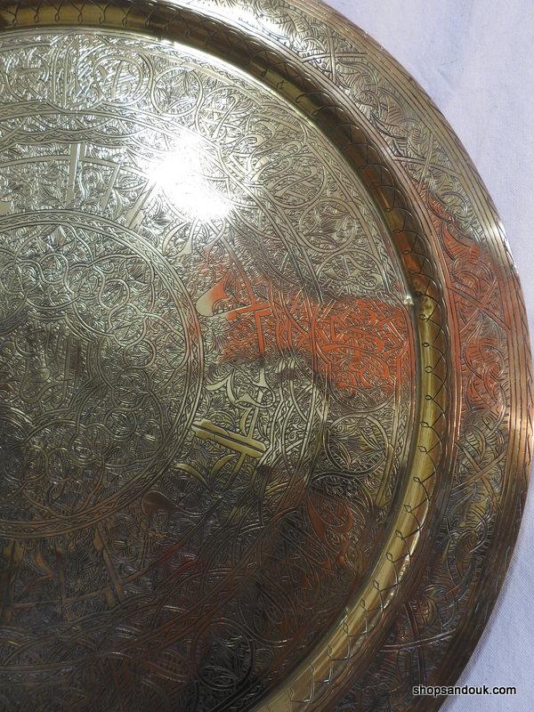 Large Tray 72 centimetre 3000 gram Vintage