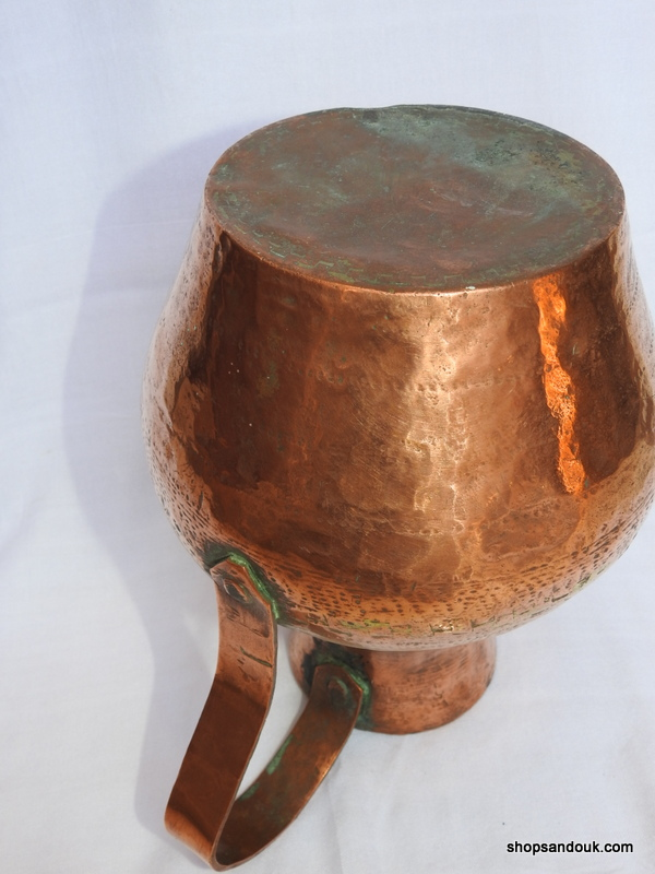 Water pot 27x23 centimetre 1750 gram Copper