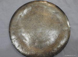 Tray 40 centimetre 1050 gram Vintage