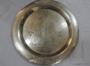 Tray 40 centimetre 800 gram Vintage