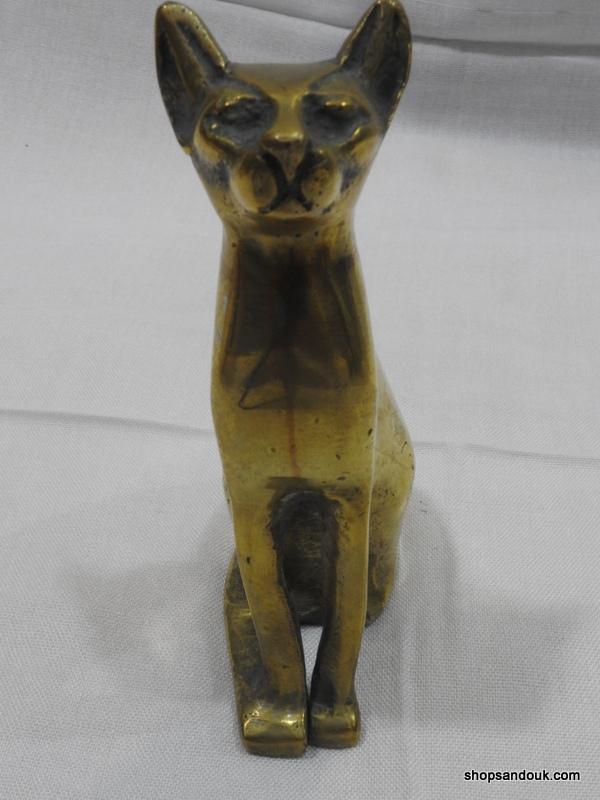 Cat Bastet 15x9 centimetre 670 gram Vintage