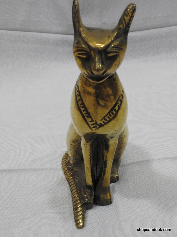 Cat Bastet 16x11 centimetre 815 gram Vintage
