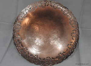 Fruit Bowel 34x6.5 centimetre 710 gram vintage