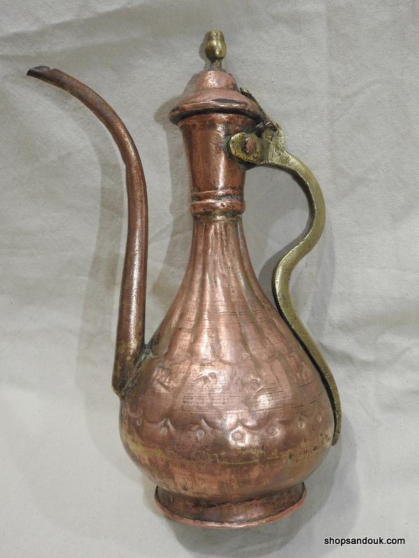 Ibriq 41x40 centimetre 3475 gram Copper
