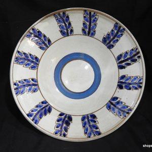 Printed 26x8 centimetre 700 gram pottery