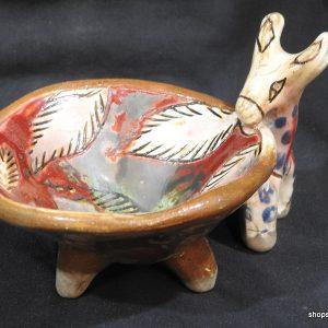 14x9 centimetre 450 gram gram Animal pottery