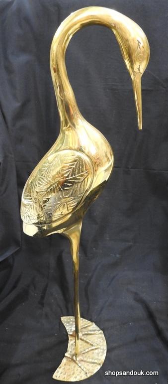 Swan Large 57x13 centimetre 1600 gram Brass